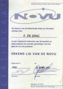 NOVU_certificaat_origineel