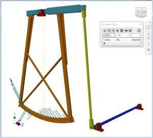 dynamic simulation schommel roerwerk
