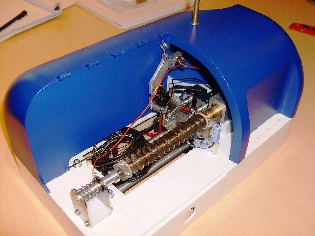 prototype, afbouwfase, elektrische bedrading