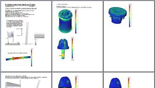 3D model (assembly) met de minimaal benodigde detail en parts  om een natuurgetrouwe sterkte en vervorminganalyse te kunnen doorvoeren