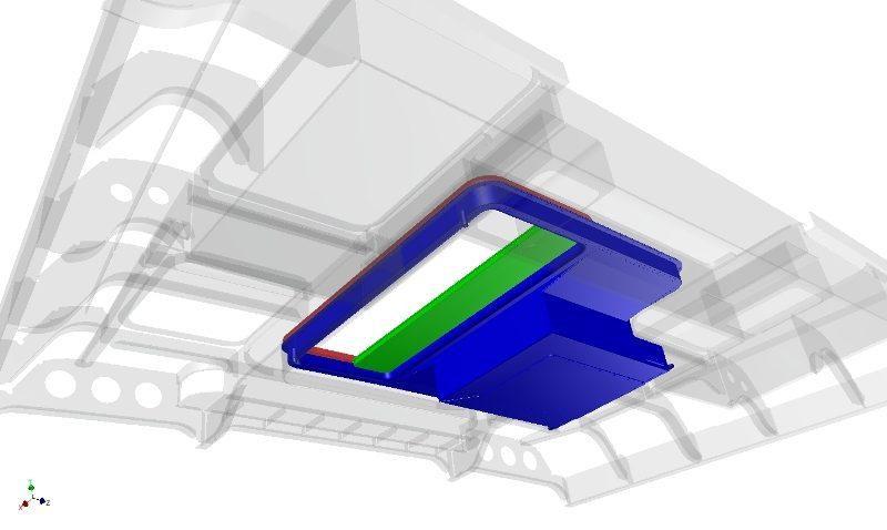 3D model verder aangevuld met detail