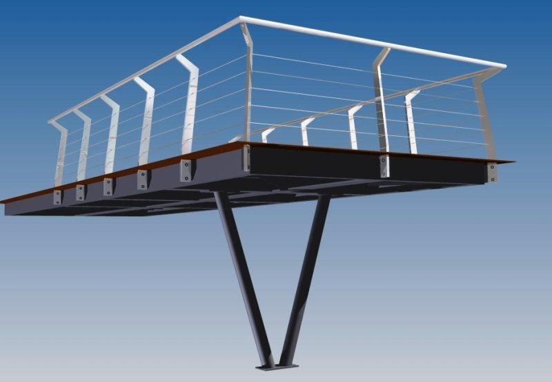 3D ontwerp van de staalconstructie met Autodesk Inventor