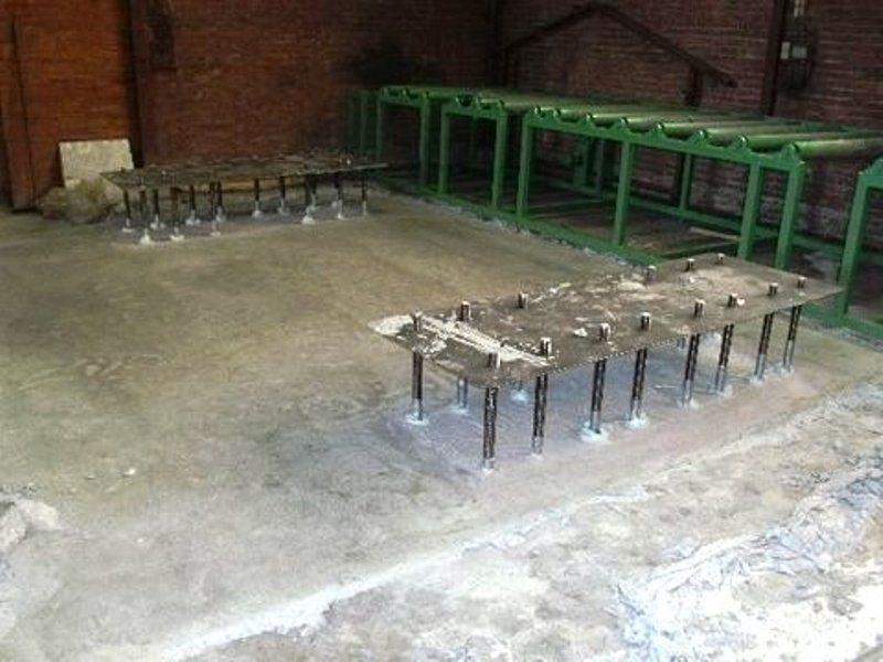 Adviesbureau Constructies Blaauw rekende voor ons uit hoeveel van welke diameter er trekstaven in het beton moest worden ingestort