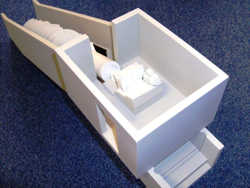 Alles is eerst tot in detail ontworpen in 3D Autodesk Inventor.