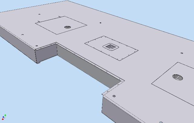 Autodesk Inventor 3D ontwerp betonput afdekkingen