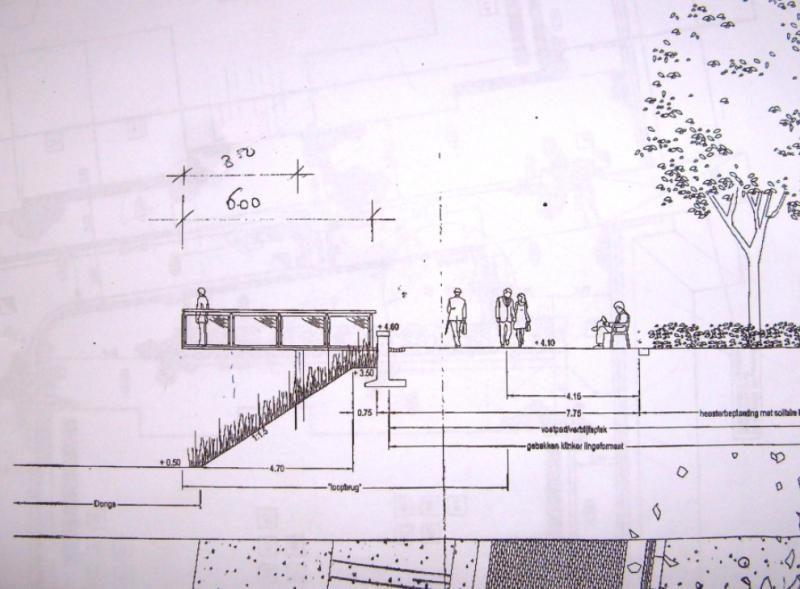 De start met de ontwerpschets van opdrachtgever GWW-PRO