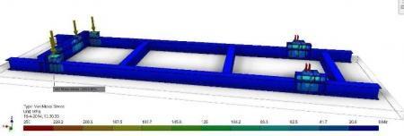 FEM sterkteberekening Storage Frame
