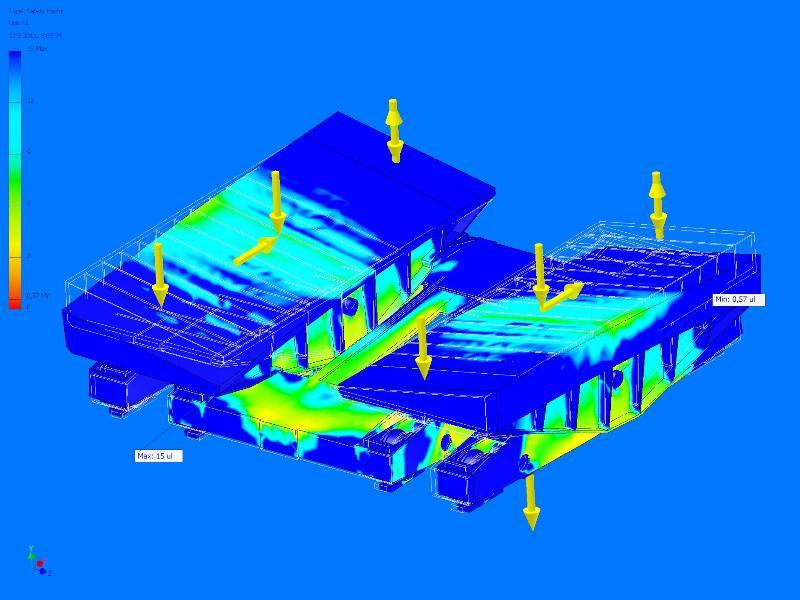 Fem analyse hellingkar hakvoort shipyard for Fem analyse