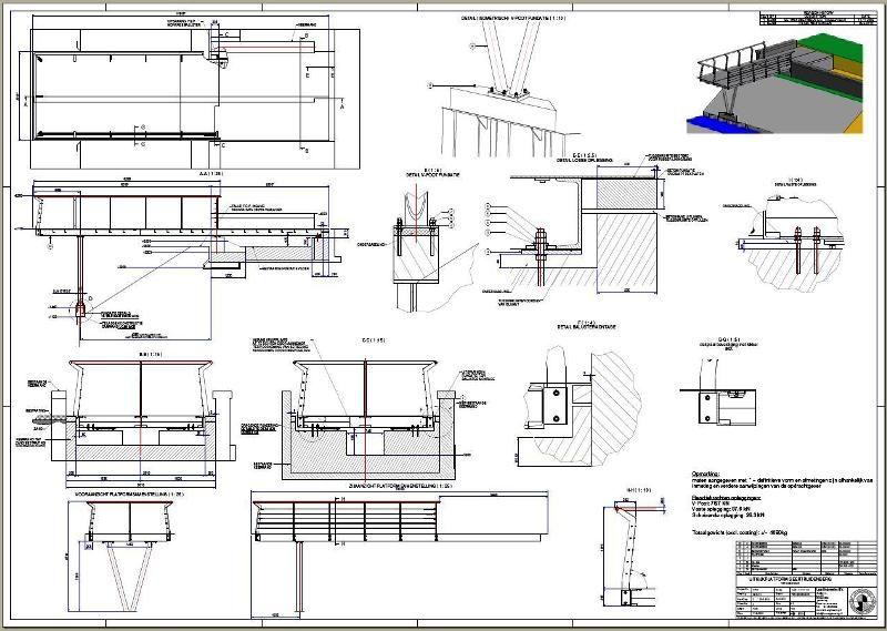 Werkplaatstekeningen en bouwtekeningen m.b.v. Autodesk Inventor