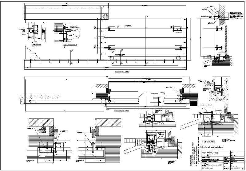 aanden lang zijn de engineers van LARA Engineering B.V. bezig geweest  met het engineeren en tekenen van deze waterkerende voorzieningen