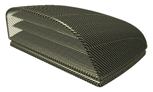 design kap volledig uit carbon fibre composite