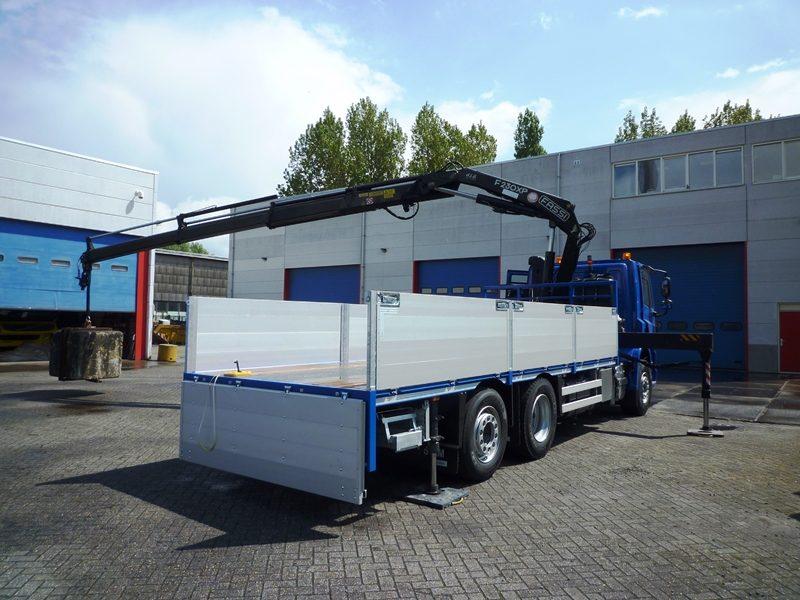 Het eerste Damhuis Holland chassis, gedoopt as MKC, is geproduceerd en onderworpen aan een strenge hijsproef volgens de geldende norm.