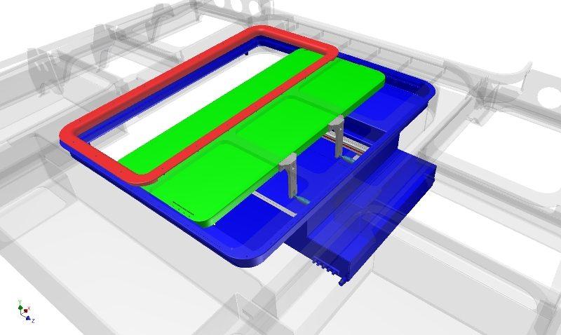 kritische onderdelen verwerkt in het 3D model