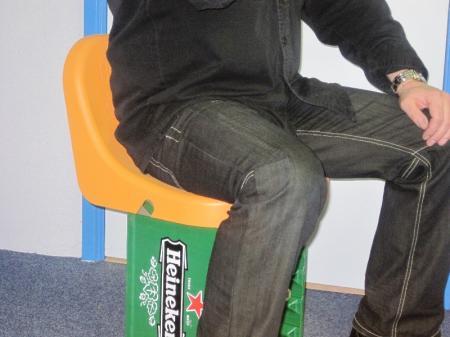 ontwerp en engineering kratstoel prototype
