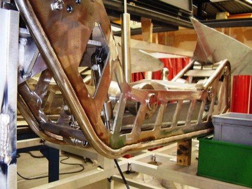 productie en samenstellen van alle onderdelen  bij de opdrachtgever Rondal te Vollenhove
