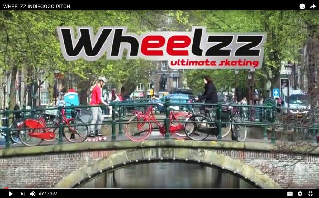 testing wheelzz in amsterdam