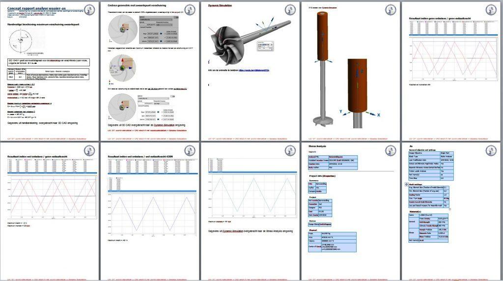 dynamica- en sterkteberekening berekening 1