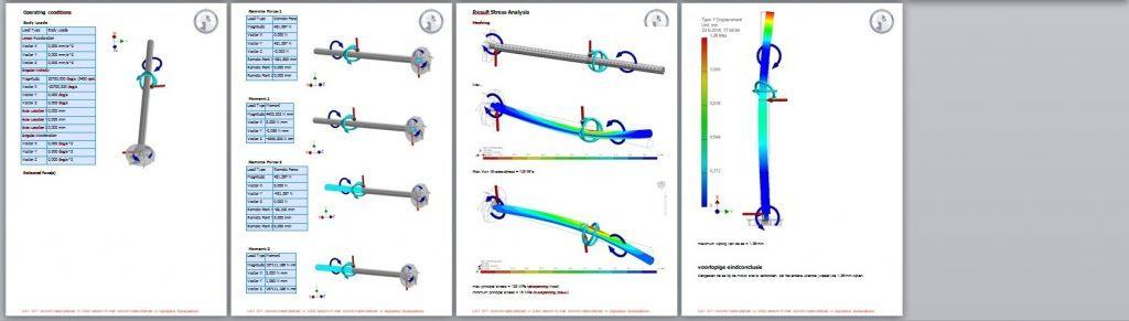 dynamica- en sterkteberekening berekening 2
