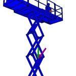 Sterkteberekening hulpchassis hoogwerker